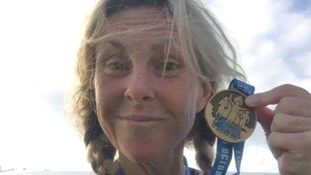 Mulher corre 63 maratonas em 63 dias