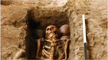Enterro de seis cabeças deixa arqueólogos perplexos